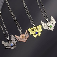 Buy Game LOL Necklace League 7 Rank Pendant Fashion Legends hero Necklaces boy Gift Jewelry Accessories for $1.69 in AliExpress store