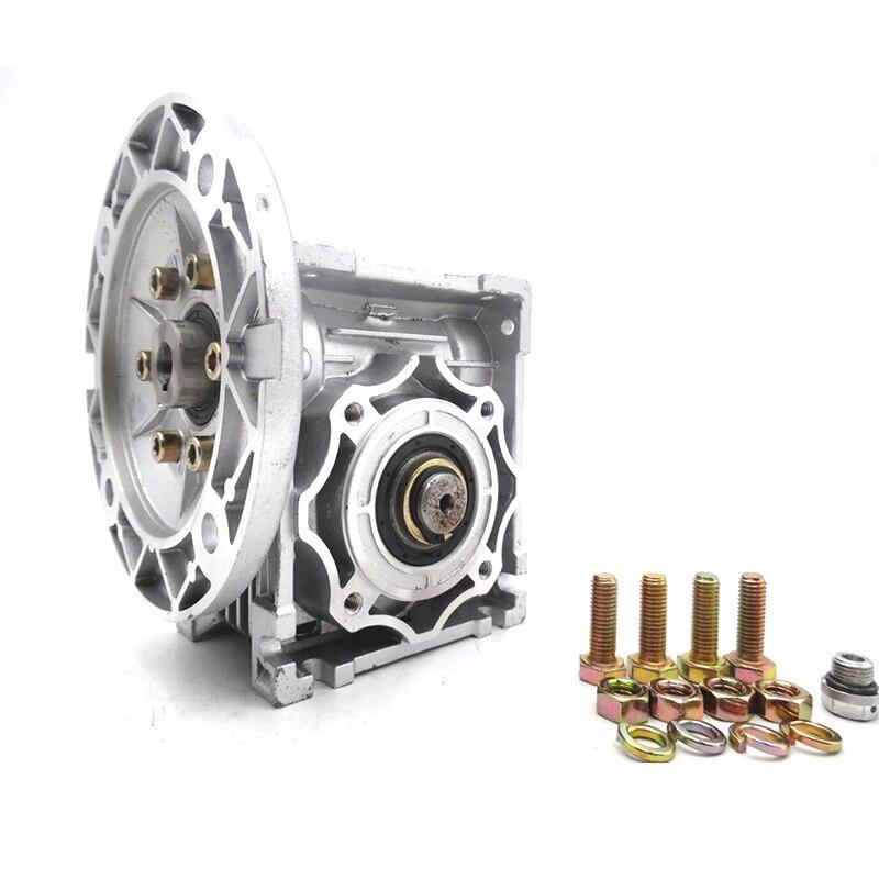 NMRV040 Worm Gear Reducer 63B14 Ratio 10 15 20 25 30 40 50 60 80 100:1 11mm <br>