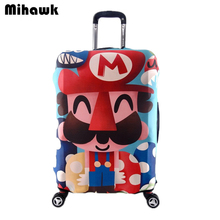 Super Mary Elastic Luggage Protective Cover Trolley Suitcase Dust Cover Bag For Lover Couple Travel Accessories Supplies Product(China)