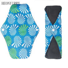 Buy 25 x 18cm Reusable Bamboo Cloth Washable Menstrual Pad Mama Sanitary Towel Pad vagina coletor menstrual clean