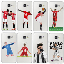 Sport Football Soccer Star Ronaldo Messi Paulo Dybala Soft Cover For Samsung Galaxy A3 A5 A7 J1 J5 J7 2016 2017 Phone case Coque(China)