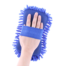 1PC New Vehicle Wash Gloves Sponge Microfiber Towel Duster Home Clean Brush Car Styling(China)