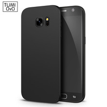 Luxury Back Matte Soft Silicon Case for Samsung Galaxy A3 A5 A7 J1 J3 J5 J7 2015 2016 2017 S5 S6 S7 Edge S8 Plus Phone Cases