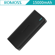ROMOSS Sense 15 Sense15 15000mAh 2 Portable Charger Dual USB External Battery Power Bank Quick Self-charging for Mobile Phones(China)