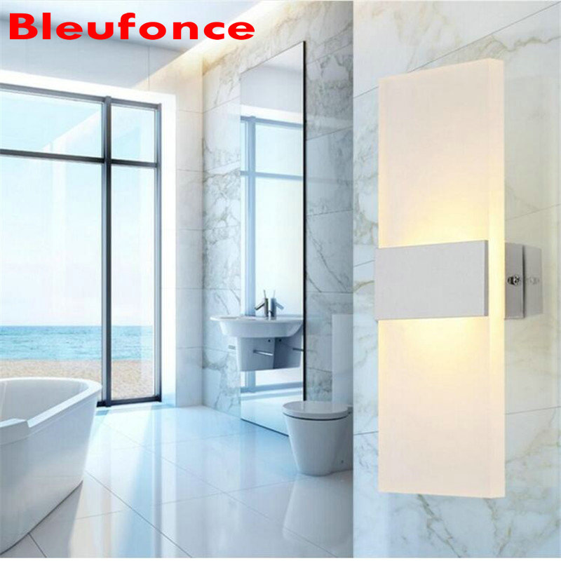 LED Acrylic Aluminum Indoor Wall Lamp 6W Bedroom Living Room Corridor Wall Sconce Home Decorate Lighting HZ8a<br><br>Aliexpress