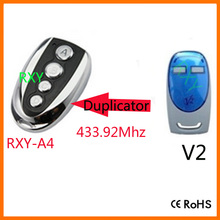 duplicator V2 433.92mhz rolling code remote control for garage door(China)