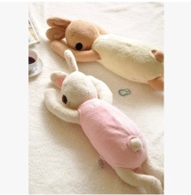 75 cm sleepy Unique Gifts Sweet Cute rabbit doll plush doll for kids lesucre sugar rabbit white pink black brown mamaspapas(China)