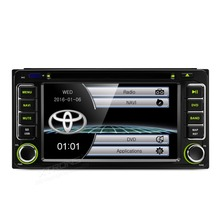 "6.2"" Special Car DVD for Toyota RAV4 2001-2008 & Echo 2000-2005 & Vios 2003-2010 & Hilux 2001-2011 with Original UI/Appearance"