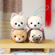 1pc Baby Child Lovely Puppy Dog Pattern Toy Women Girl Handbag Pendant Ornament Kids Toy Stuffed Plush Toy Miniatures(China)