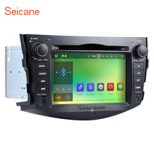 Seicane Android 7.1 Car DVD Player for 2008-2011 Toyota Rav4 Radio Head Unit GPS Navigation Support OBD2 USB SD DVR Music WIFI(China)