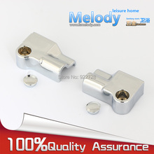 RP051-0 Bath room fittings Ground profile block to Wall fixed Aluminum Water retaining bar Shower screen parts(China)