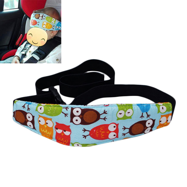 Infants And Baby Head Support Pram Stroller Safety Seat Fastening Belt Adjule Playpens Sleep Positioner