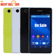"Sony Xperia Z1 Compact D5503 Original Unlocked Mobile phone 4.3"" GSM 3G&4G Android Quad-Core 20.7MP WIFI GPS 2GB RAM 16GB ROM"