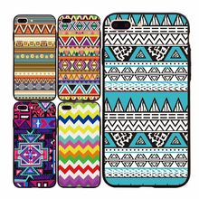 Classical Geometric Pattern Cheap Cases For iPhone 5 5s SE 6 6s 7 6Plus 7Plus Soft TPU&Hard PC Back Phone Cases Cover Case Coque