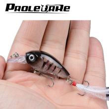 1Pcs 4.5cm 4g Fishing Lures Crank Bait Crankbait Tackle Swim bait wobblers fishing japan Hard Crazy Fish Lure Bass YR-353(China)