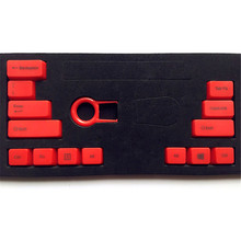 14 Key Caps Multicolor ABS Mechanical keyboards Keycap with Key Caps Puller Remover Tool For Cherry MX Switch Keyboard for Gamer(China)