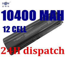 HSW New 9Cell Laptop Battery for HP Pavilion DV4 DV5 dv6-1000 dv6-2000 G50 G60 G61 G70 G71 CQ40 CQ45 CQ50 HDX X16 batteria akku(China)