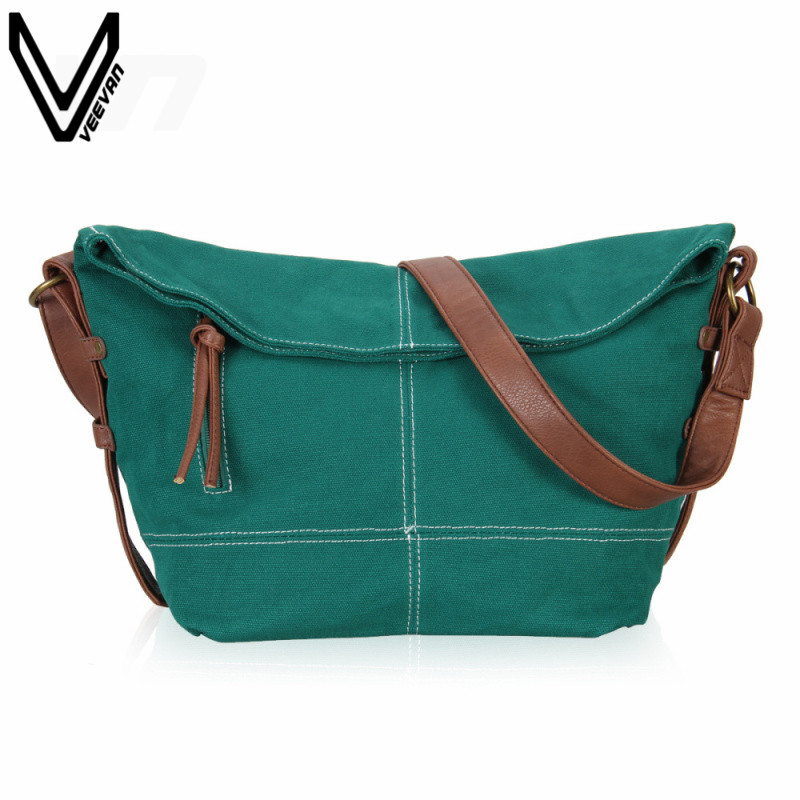 VEEVANV 2016 New Fashion Women Messenger Bags Canvas Shoulder Bags For Teenagers Girl Print Crossbody Bags Travel School Bags<br>