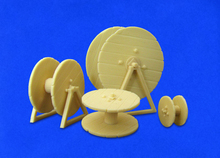 1/35 Resin Soldier Scene Accessories Cable reel