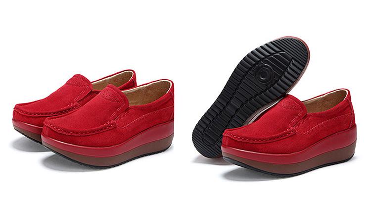 HX 3213 (25) Autumn Platforms Women Shoes