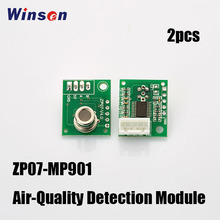 Winsen ZP07-MP901 Air-Quality Detection Module High Sensitivity Low Power Consumption Long Life, Faulty Auto-check Free Shipping(China)