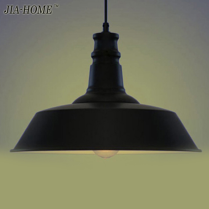 220V American country creative personality cover chandelier lamp shade color black / White / rust colored 5-60w E27<br><br>Aliexpress