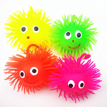 6pcs/lot Cute Kids Toys Funny Fidget Toy Stress Reliever/ Anti Stress Ball Sensory Fidget Toys Christmas Gift Pinata oyuncak(China)