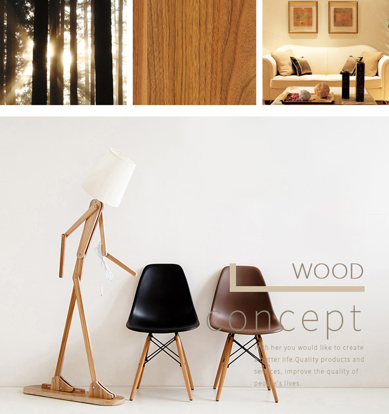 Japanese Style Creative DIY Wooden Floor Lamps Nordic Wood Fabric Stand Light For Living Room Bedroom Study Art Deco Lighting E27 (2)