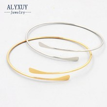 Fashion accessories jewelry New easy geometry cuff bangle gift  for women girl wholesale B3393