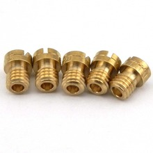 Round Head Main Jet CVK #105 #110 #115 #120 #125 For CG 125 150 ATV Motorbike Injector Nozzle