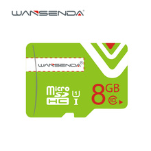 High quality Wansenda Micro SD Card 4GB 8GB 16GB Class 10 Class 6 Memory Card TF Card Free SD Adapter retail package