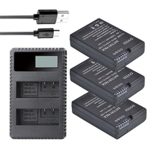 Buy 3Pcs EN-EL14 EN EL14 ENEL14 batteries +LCD Dual Charger Nikon Camera Battery D5300 D5200 D5100 D3100 D3200 D3300 P7100 P7800 for $31.24 in AliExpress store