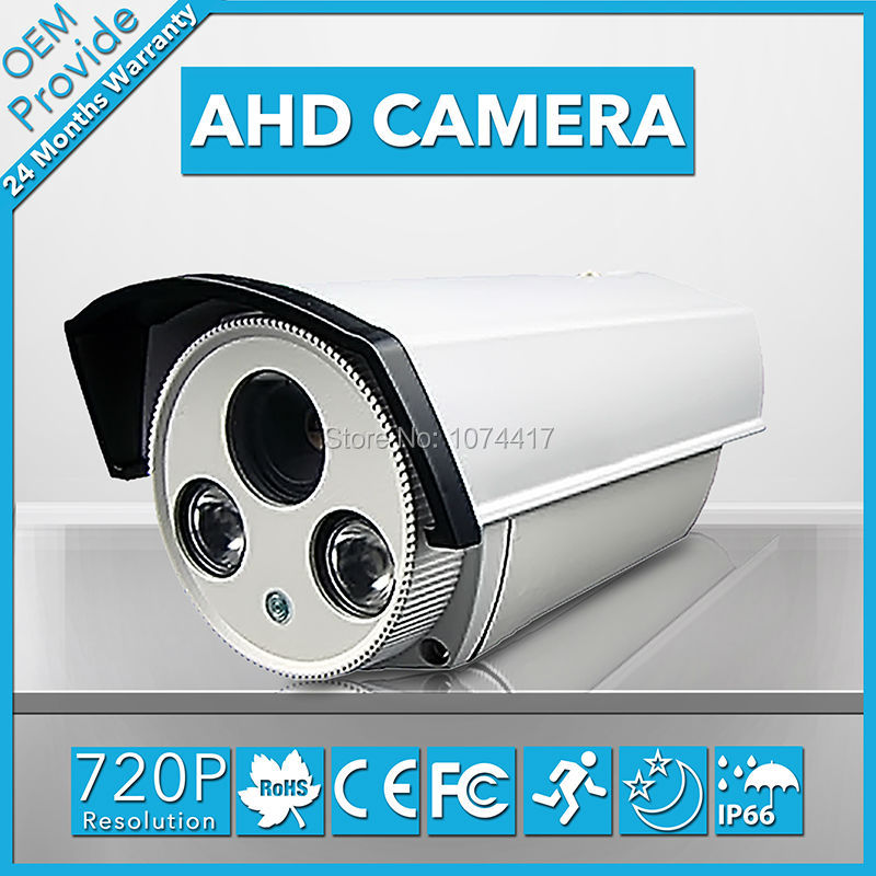AHD2100KH free shipping! AHD Box  security Surveillance 2pcs LED IR night vision Indoor/outdoor Security CCTV  Camera<br>