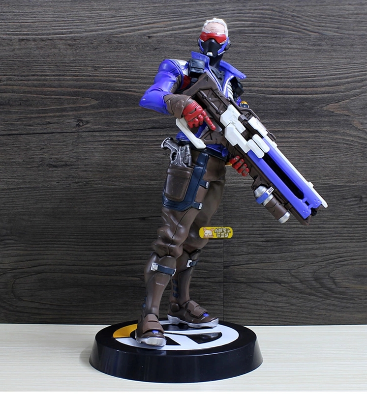 Game Over Action Figure Tracer Widow Maker D.VA MEI GENJI HANZO McCree Soldier 76 Bastion Collectible Anime Toy<br><br>Aliexpress