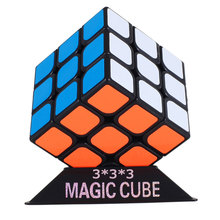 Free Shipping 3x3x3 Fidget Cube Puzzle Toy magic cube 3x3x3 Profissional Black & White Colors Neo Cube Toys For Children