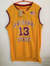 SorryNam Arizona State Sun Devils 13 James Harden jerseys cheap movie Basketball Jersey Embroidery sewing size:S-3XL