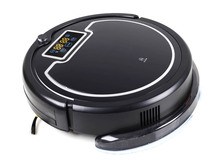 Newest Wet and Dry Mop Intelligent Vacuum Cleaner Robot With Water Tank,Touch Screen,Schedule, Self Charge,UV Lamp(China)