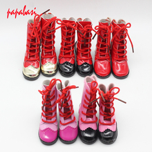 7.8cm Shoelaces high heels dolls shoes For 16inch 1/3 BJD shoes, Boots fit 60cm SD dolls children Christmas gift free shipping