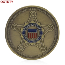 Collectible Coin United States Secret Service Saint Michael Commemorative Challenge Coin Art Gift