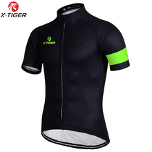 X-TIGER 7 Colors Cycling Jersey Breathable MTB Bicycle Clothing Mans Bike Clothes Maillot Roupa Ropa De Ciclismo Hombre Verano