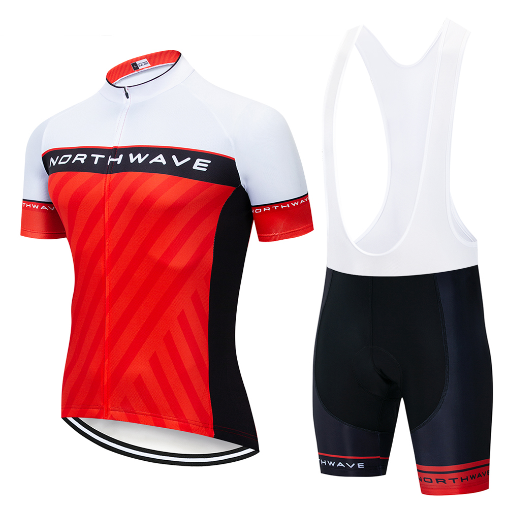 Men Cycling Jersey Set 2019 Pro Team Nw Breathable Bicycle Cycling Clothing Mountain Bike Maillot Ropa Ciclismo Bib Shorts Set