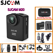 Original SJCAM M20 Gyro Mini Action Helmet Sports DV Camera 30M Waterproof 4K 24fps 2K 30fps NTK96660 16MP With RAW Format(China)