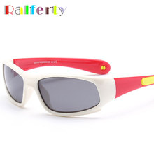 Ralferty Kids Sport Sunglasses Polarized Anti UV Protection Eyewear Child Polaroid Sun Glasses Girls Boys Goggles Oculos 8110(China)