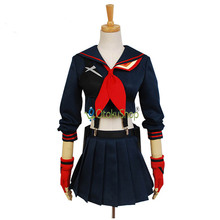 Cute Unicorn KILL la KILL Ryuko Matoi Cosplay Costume Anime Party Clothing Halloween Dress For Women Girls Custom Made Uniform