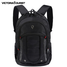 VICTORIATOURIST 15.6 inch laptop backpack men travel/business back pack waterproof nylon backpack euro style v6060 black