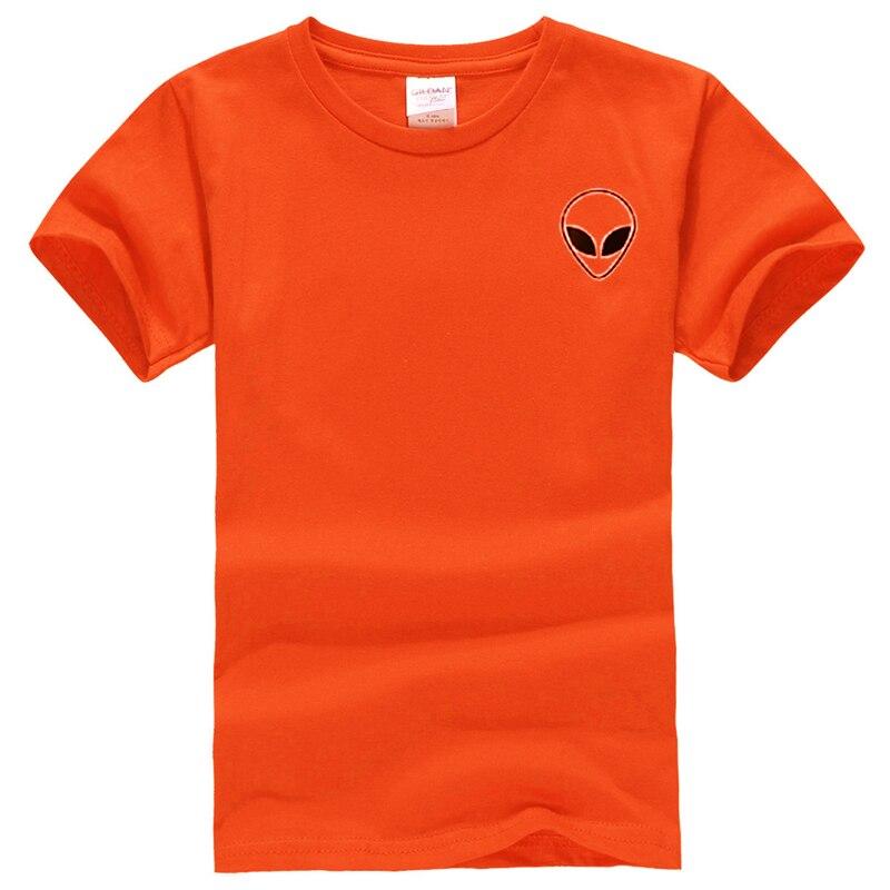 19 couleur S-XL Plaine T Shirt Femmes Coton Élastique De Base Chemises Casual Tops À Manches Courtes Harajuku Alien T-shirt Femme Vêtements 25
