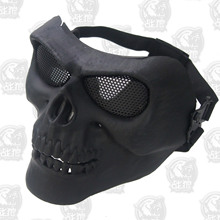Bike emirates Balaclava water gun silver grey skeleton Cycling Face mask real tactical protection field equipment
