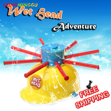 CongMingGu Wet Funny Challenge Head Jokes&Funny Toys Water Roulette Game Kid Toys Great Game Gags Practical Jokes