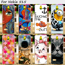 TAOYUNXI Mobile Phone Bags and Cases For Nokia Asha 515 2.4 inch Cases Anti-Knock Hard Plastic Shield Smartphone Hood Shell(China)