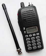 IC V8 waterproof walkie talkie VHF 136-174MHz 5.5W 100 Channels DTMF Encoder Marine Two way Radio